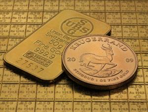 Krügerrand Goldbarren