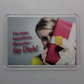 """10x Motiveinleger """"Für Dich"""""""