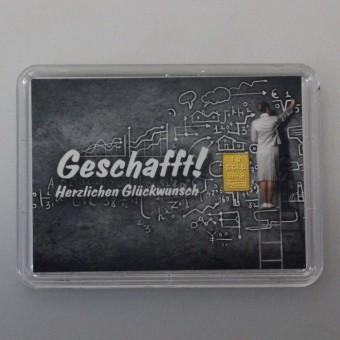 """10x Motiveinleger """"Geschafft"""""""