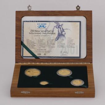 Natura Special Proof Set 2001 - The Oryx (Südafr.)