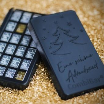 Adventskalender Edelmetall-Box (2x1g Au & 22x1g Ag) in CombiPurse