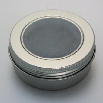 """Geschenk-Box """"rund/Sichtfenster"""" (Ø: ca. 6 cm)"""