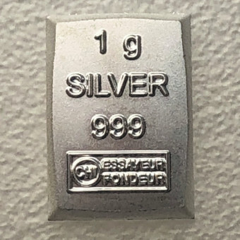 Silberbarren 1g CombiBar