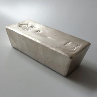 Silberbarren 5kg Degussa