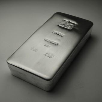 Silberbarren 5kg