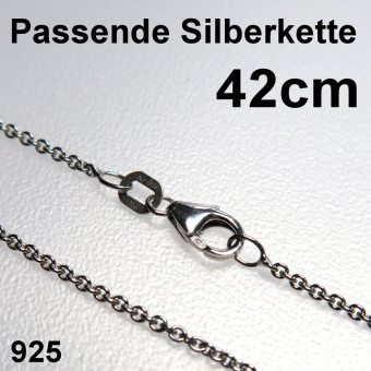 """Silberkette 925er/42 cm """"Anker-Form"""" (Sterling)"""