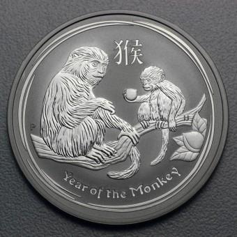 "Silbermünze 10oz ""2016 Affe"" Lunar II"
