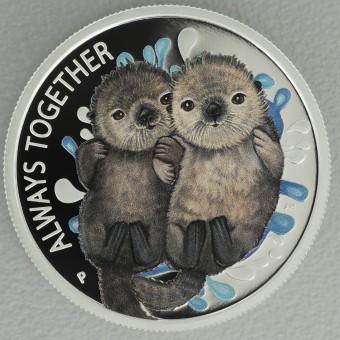 "Silbermünze 1/2oz ""Always together"" 2020,  (PP)"