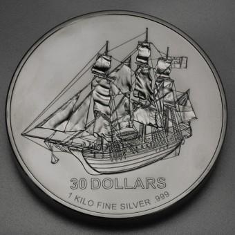 "Silbermünze 1kg ""COOK Islands/Bounty"""