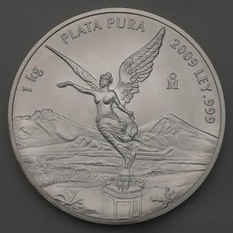 """Silbermünze 1kg """"Libertad - 2009"""""""