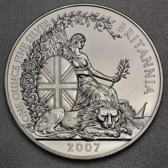 "Silbermünze 1oz ""Britannia 2007"""