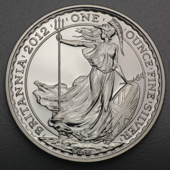 "Silbermünze 1oz ""Britannia 2012"""