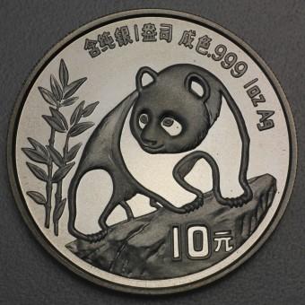 "Silbermünze 1oz ""China Panda - 1990"""