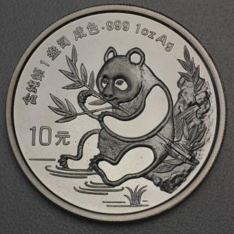 "Silbermünze 1oz ""China Panda - 1991"""