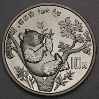 "Silbermünze 1oz ""China Panda - 1995"""