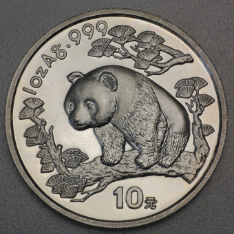 "Silbermünze 1oz ""China Panda - 1997"""