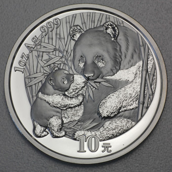 "Silbermünze 1oz ""China Panda - 2005"""