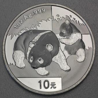 "Silbermünze 1oz ""China Panda - 2008"""
