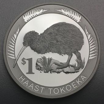 "Silbermünze 1oz ""Kiwi 2008"" (Neuseeland)"
