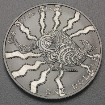 "Silbermünze 1oz ""Känguru 2002"" (RAM)"