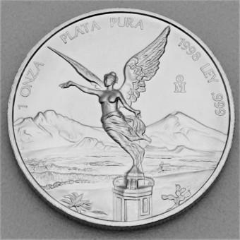 """Silbermünze 1oz """"Libertad - 1998"""""""