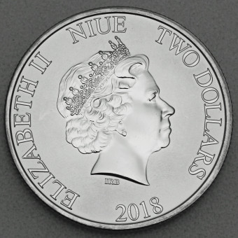 "Silbermünze 1oz ""Niue Turtle"" 2018"