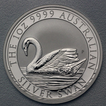 "Silbermünze 1oz ""Swan/Schwan 2017"" (Australien)"