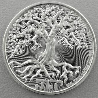 "Silbermünze 1oz ""TREE OF LIFE 2019"" (Niue)"
