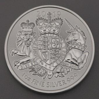 "Silbermünze 1oz ""The Royal Arms 2019"" (UK)"