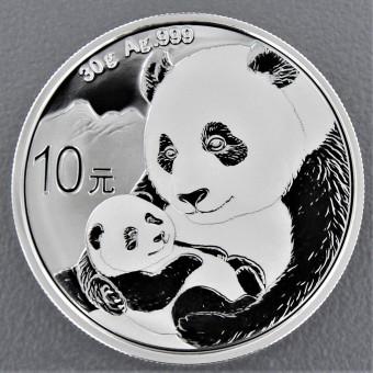 "Silbermünze 30g ""China Panda - 2019"""
