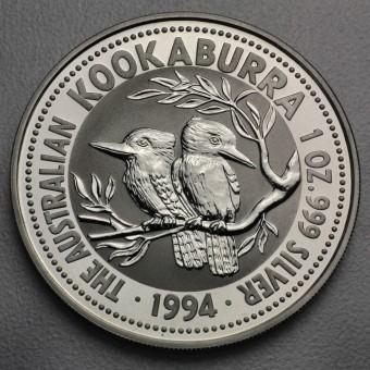 """Silbermünze """"Kookaburra - 1994"""" 1oz"""