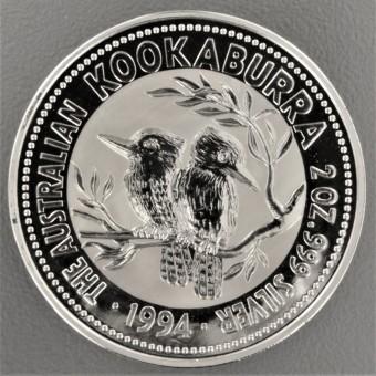 """Silbermünze """"Kookaburra - 1994"""" 2oz"""