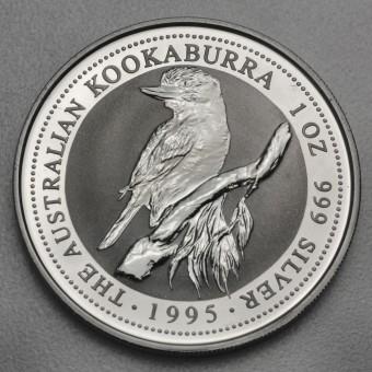 """Silbermünze """"Kookaburra - 1995"""" 1oz"""