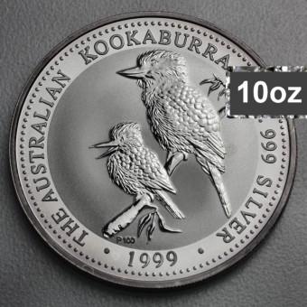 """Silbermünze """"Kookaburra - 1999"""" 10oz"""