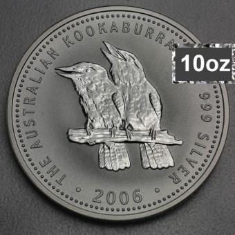 """Silbermünze """"Kookaburra - 2006"""" 10oz"""