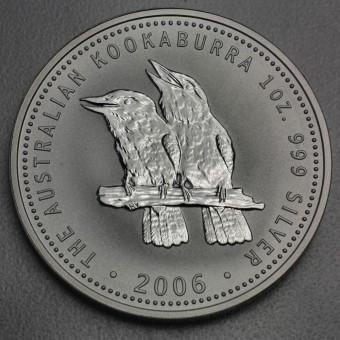 """Silbermünze """"Kookaburra - 2006"""" 1oz"""