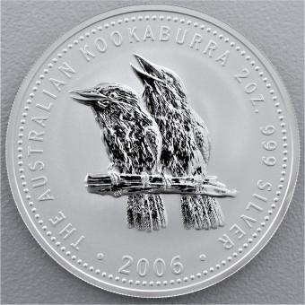 """Silbermünze """"Kookaburra - 2006"""" 2oz"""