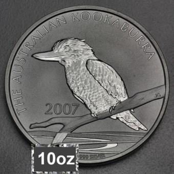 """Silbermünze """"Kookaburra - 2007"""" 10oz"""