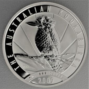 """Silbermünze """"Kookaburra - 2009"""" 2oz"""