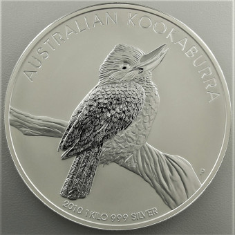 "Silbermünze ""Kookaburra - 2010"" 1kg"