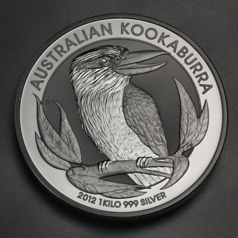"Silbermünze ""Kookaburra - 2012"" 1kg"