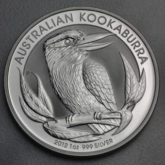 """Silbermünze """"Kookaburra - 2012"""" 1oz"""