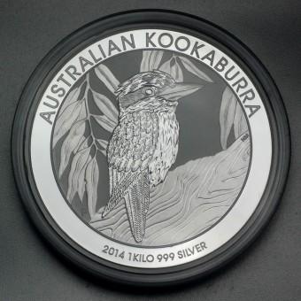 "Silbermünze ""Kookaburra - 2014"" 1kg"