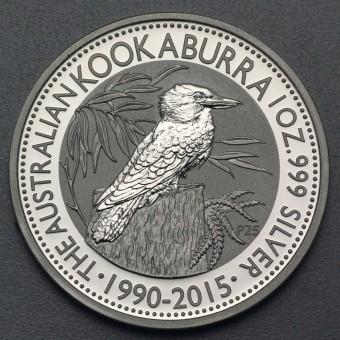 """Silbermünze """"Kookaburra - 2015"""" 1oz"""