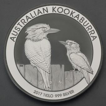 "Silbermünze ""Kookaburra - 2017"" 1kg"