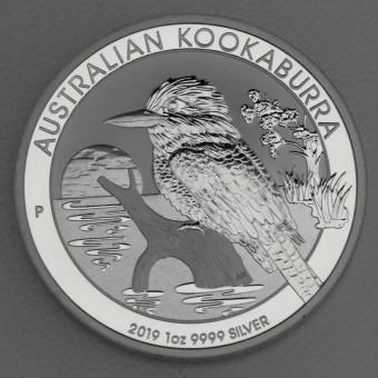 """Silbermünze """"Kookaburra - 2019"""" 1oz"""