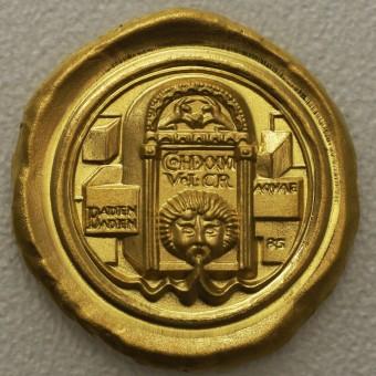 "Flussgold-Medaille 2020 ""Aquae - Heiße Quellen"""