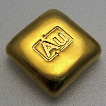 "Goldbarren 1oz ""Goldknuffel"" Au-Gussbarren"