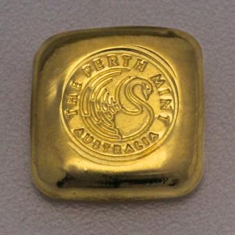 "Goldbarren 1oz PERTH MINT ""Gußbarren"""