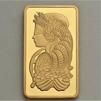 "Goldbarren 250g PAMP ""Fortuna"""